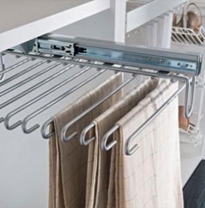 J Holmes Bedrooms - pant rack