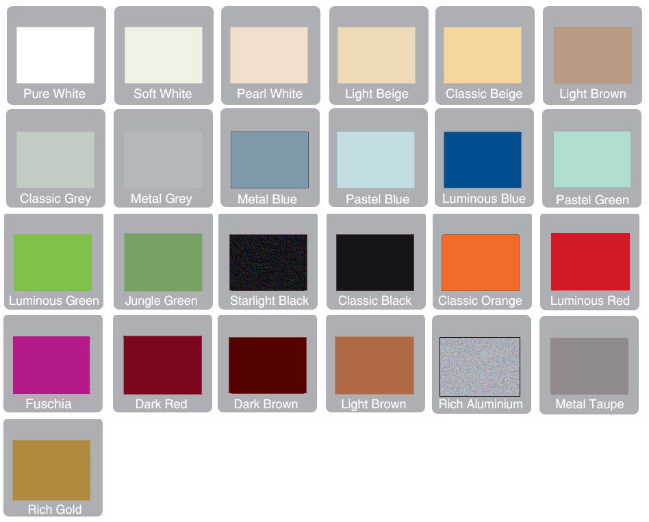 J Holmes Bedrooms plain colours