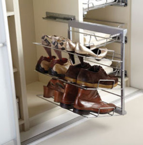 J Holmes Bedroom shoe rack